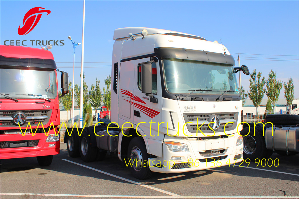 beiben 2534 V3 tractor truck supplier