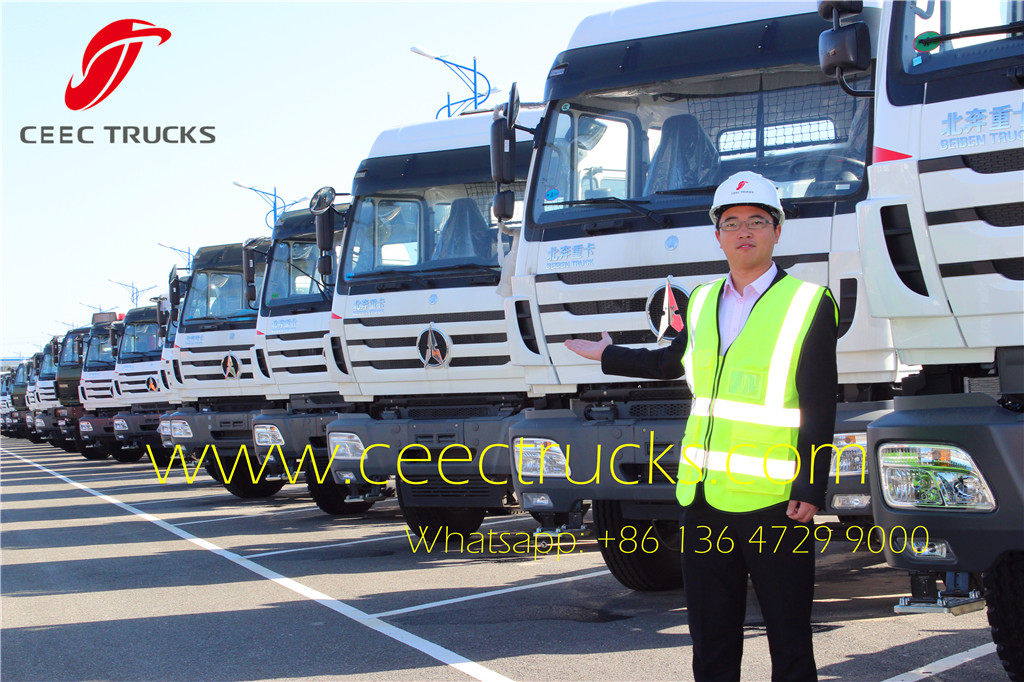 CEEC TRUCKS supply beiben 10 wheel tractor trucks