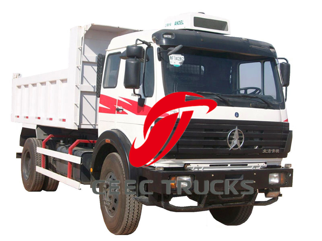 Beiben 1628 dumper trucks
