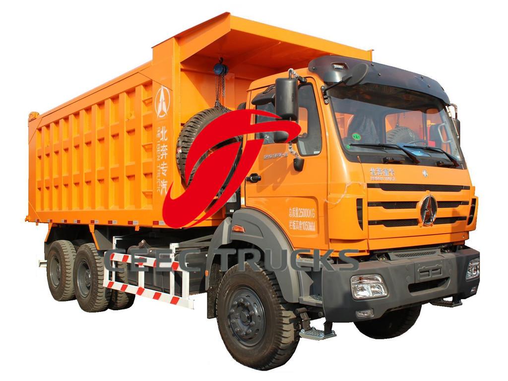 beiben 2634 tipper trucks export