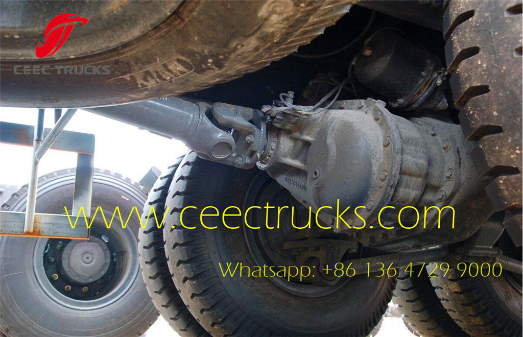 beiben 2634 tipper trucks export Africa