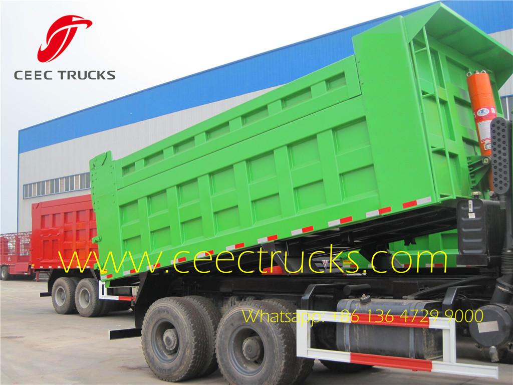 Beiben 2529 dumper trucks export Congo