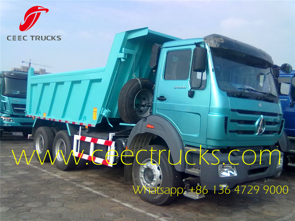 beiben 2628 tippers 25T dumper trucks