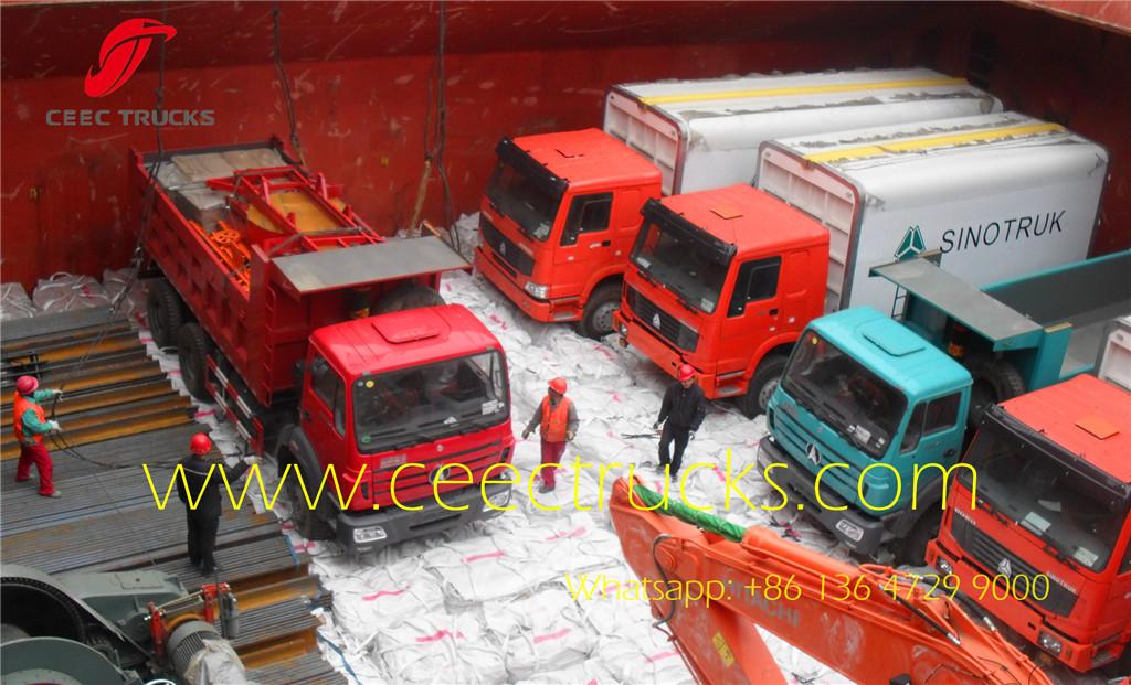 beiben 2628 tippers 25T dumper truck for Africa