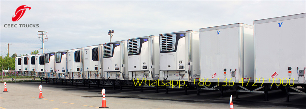 refrigerated semitrailer wholesale
