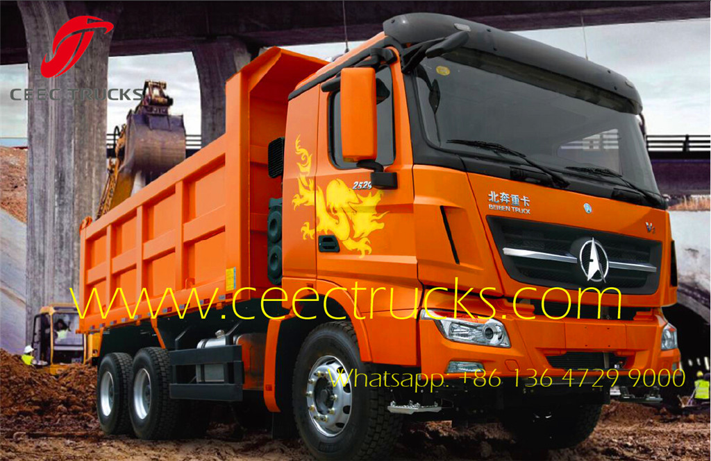 beiben 2538 V3 tipper trucks supplier