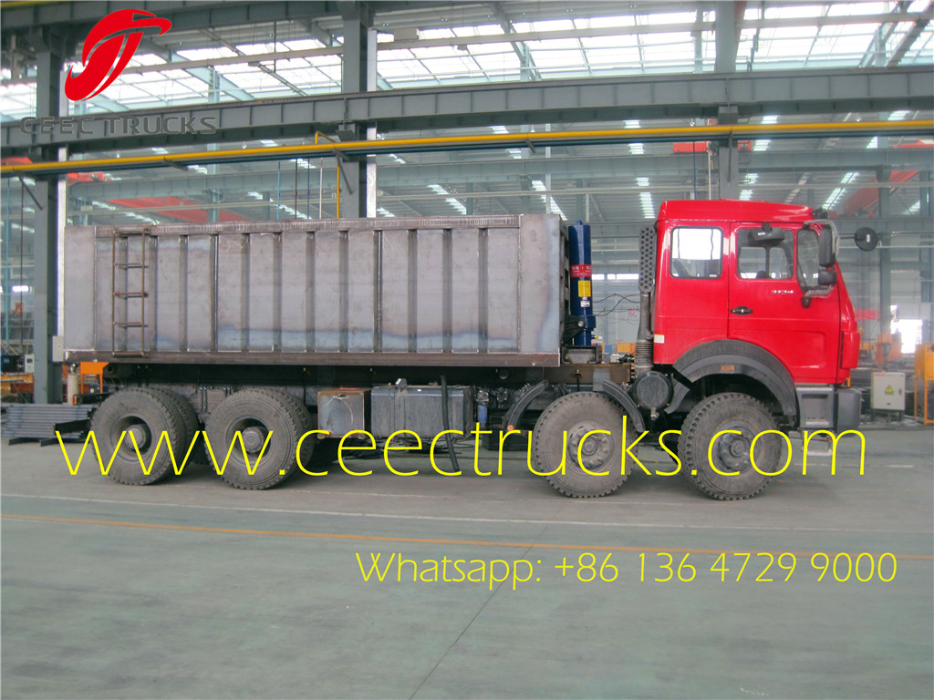 beiben 3142 NG80 Dump trucks supplier