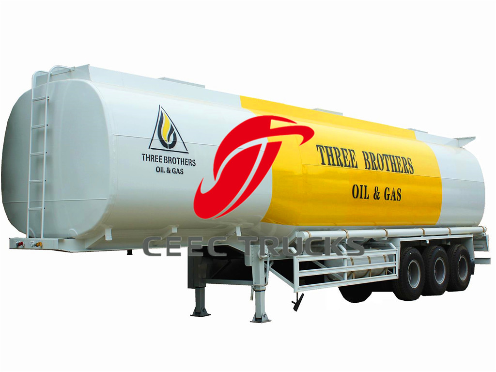40CBM fuel tanker semitrailer suppliers