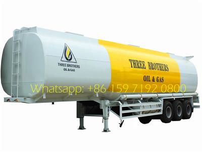 40CBM fuel tanker semitrailer