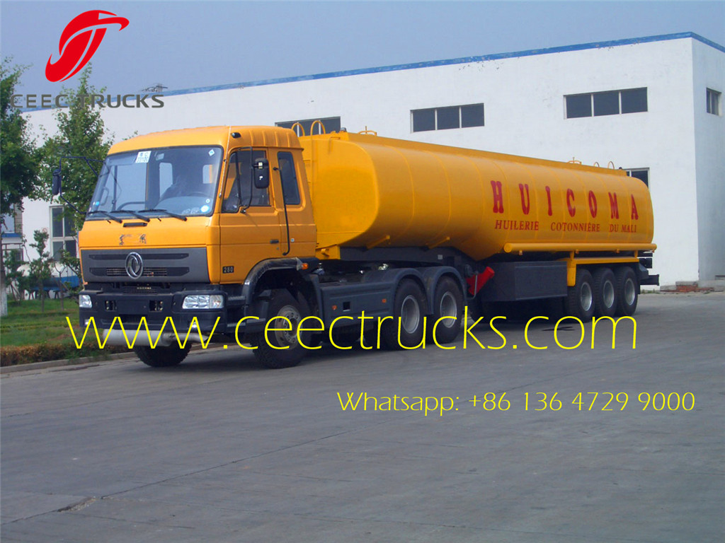 DONGFENG brand prime mover and fuel tanker semitrailer