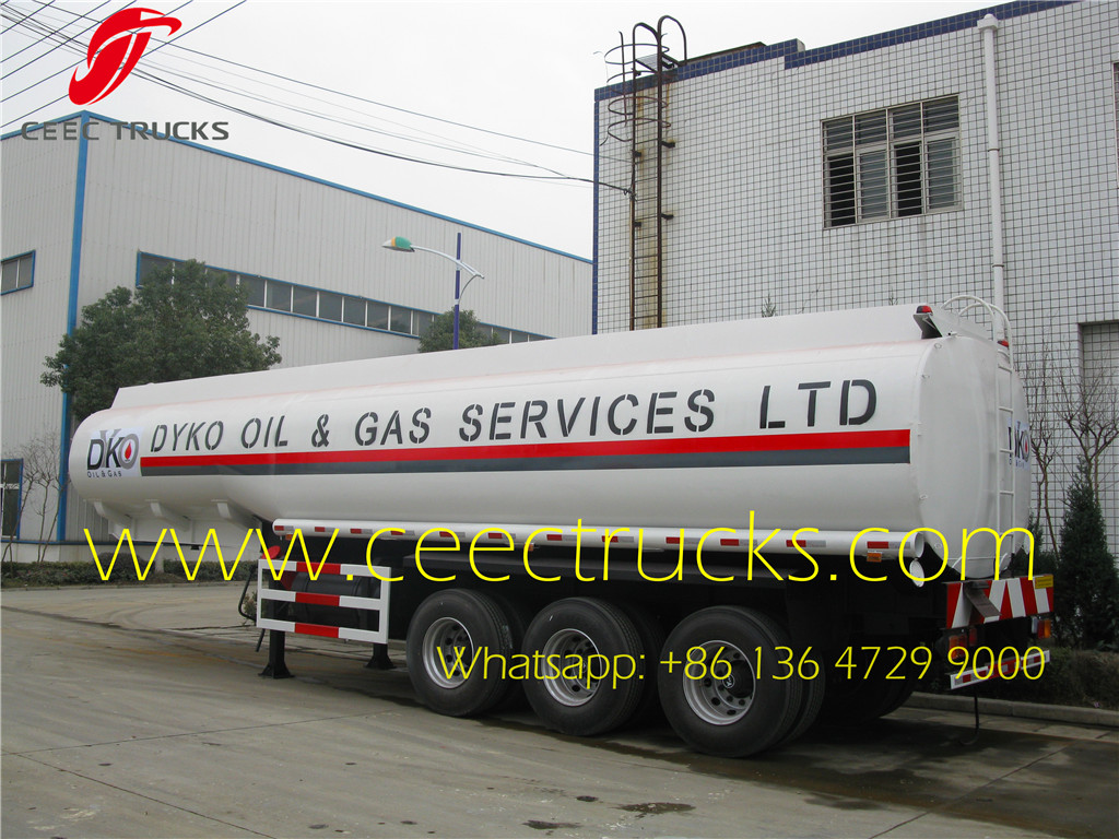 Nigeria 35 CBM oil tank trailer wholesale