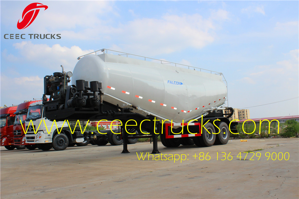 30CBM 2 axle bulk cement tanker trailer for sale
