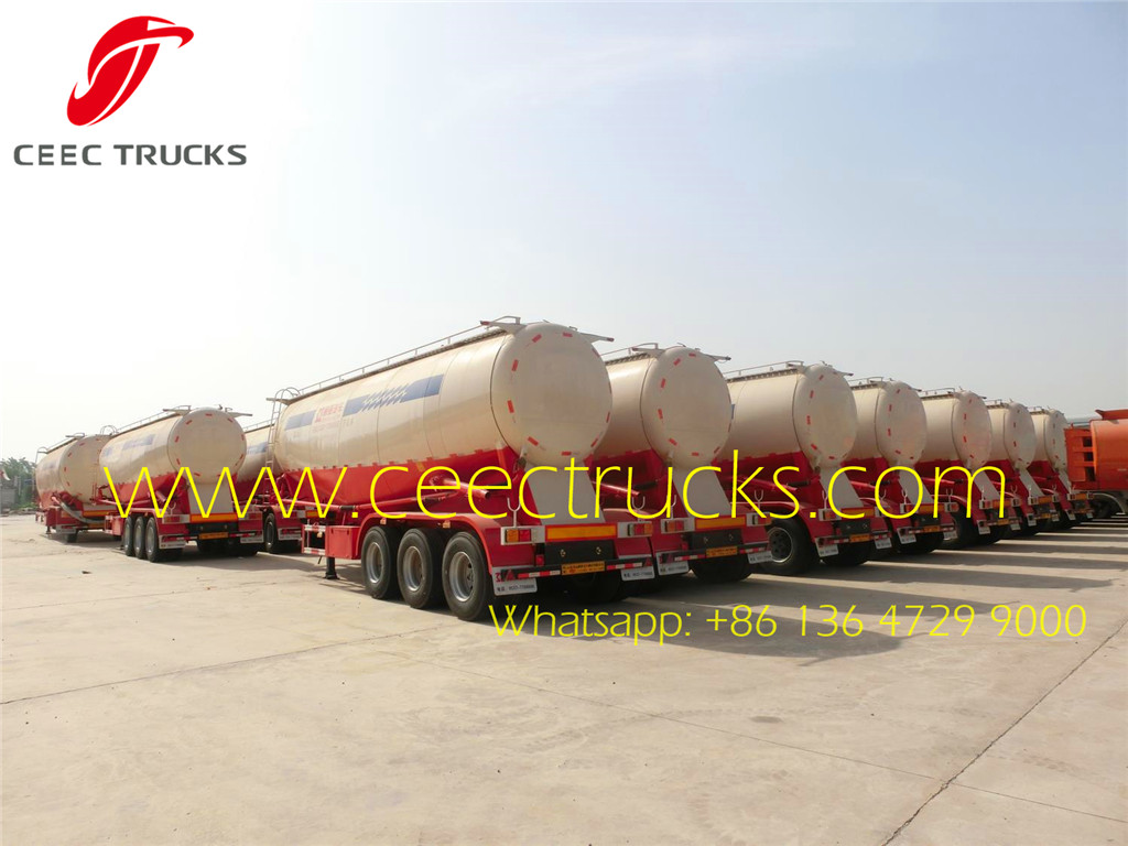 42 m³ bulk cement trailer batch export
