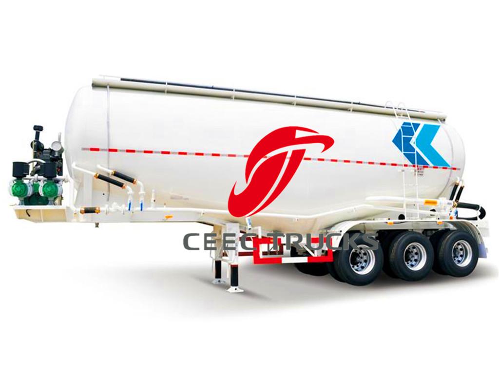 50 CBM heavy cement bulk tanker semitrailer sale