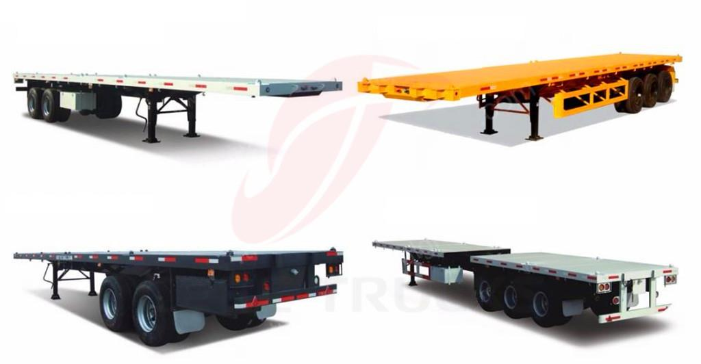 optional model for 40T bogie suspension trailers