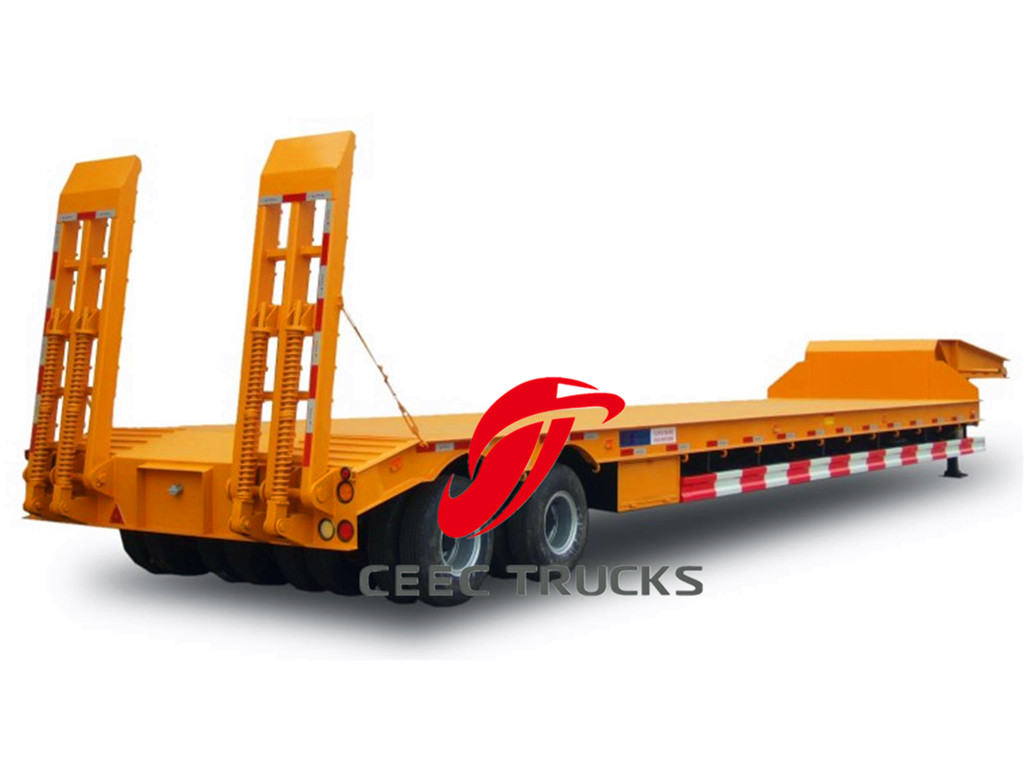 2-axle 30T lowbed semitrailer
