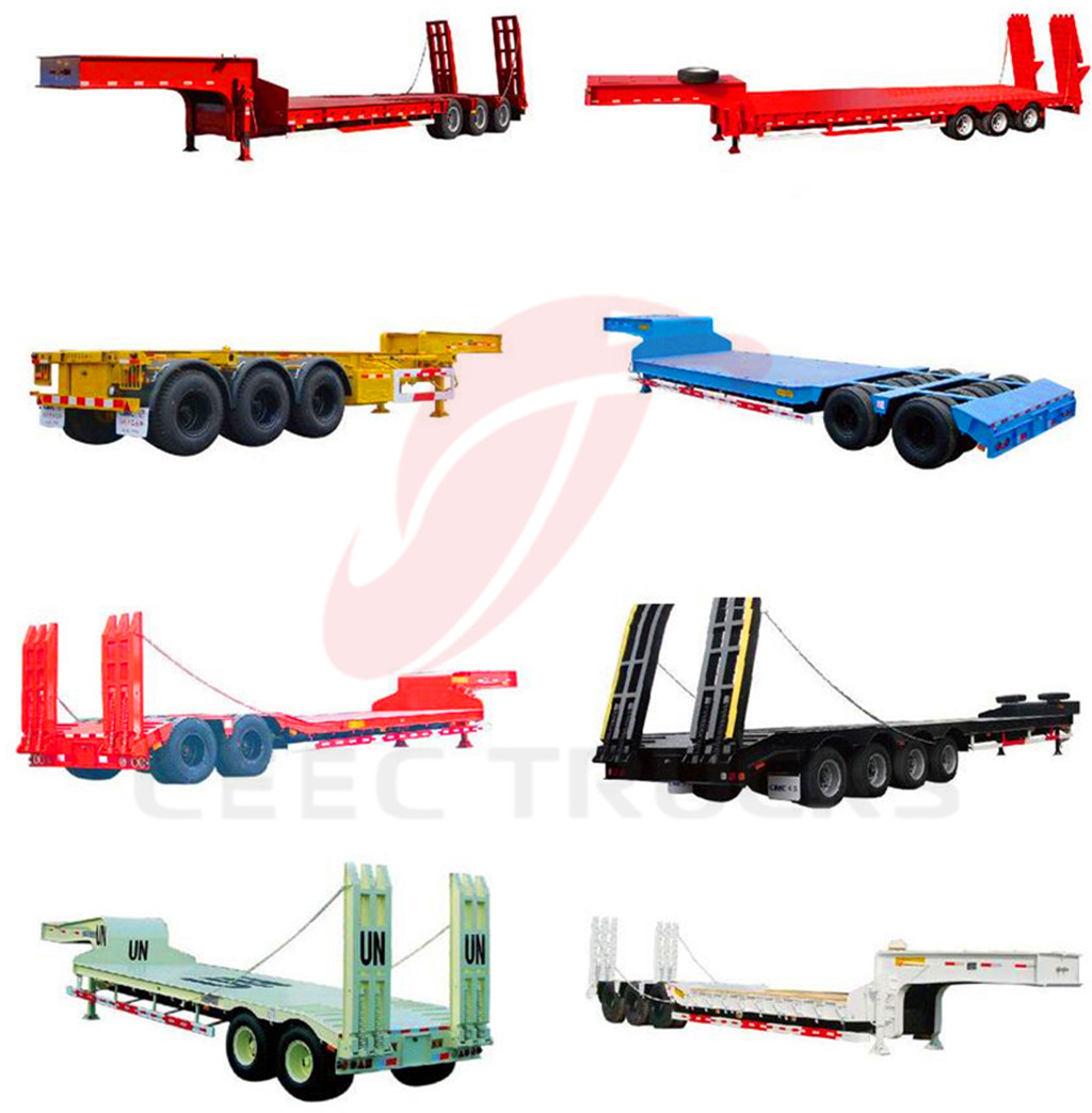 2-axle 30T lowbed semitrailers manufacturer