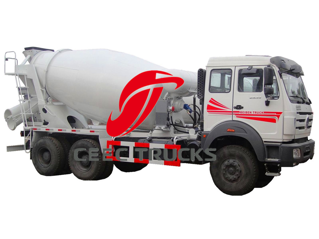 10 CBM beiben concrete mixer truck on sale