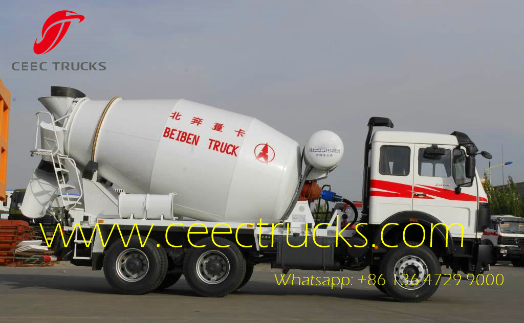 Beiben 2538 mixer trucks wholesales