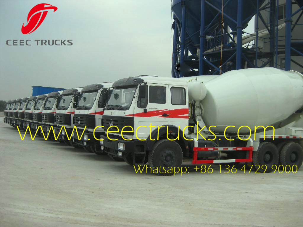 Beiben 2538 mixer trucks wholesale Africa