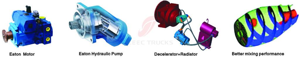 Dongfeng 10 CBM mixer truck