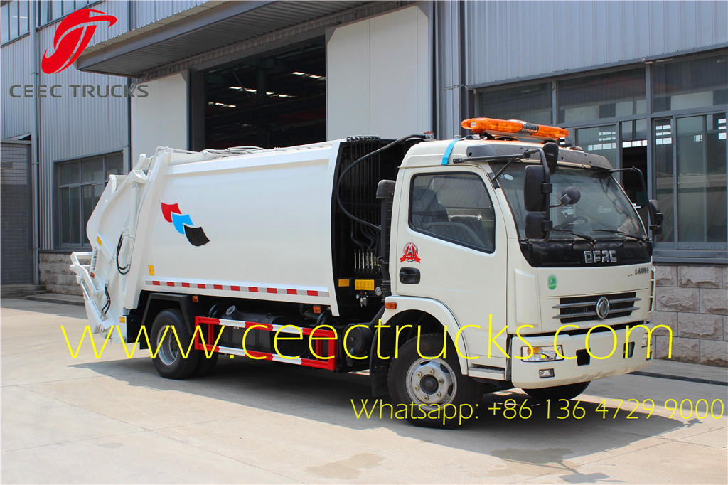 Dongfeng 7 CBM compactor trucks on sale