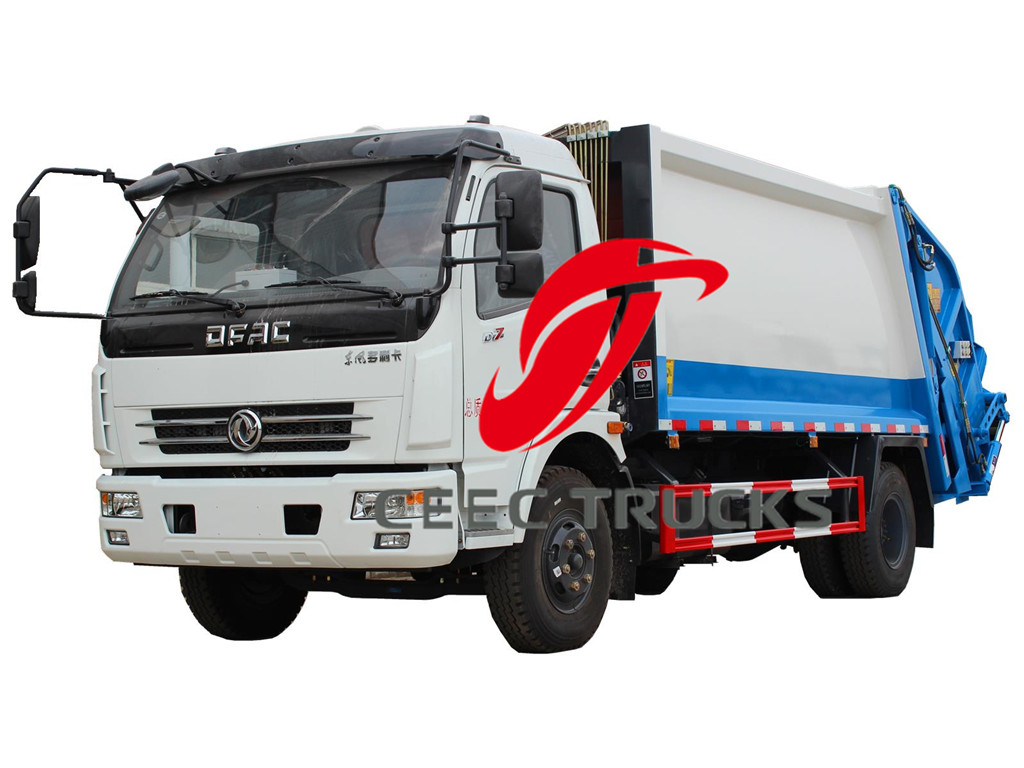 Dongfeng 8 CBM compactor trucks sale