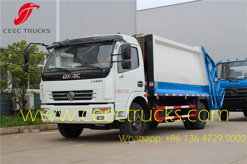 Dongfeng 8 CBM compactor trucks on sale