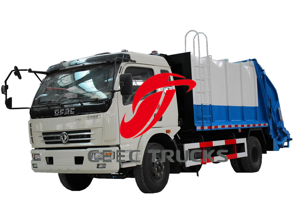 dongfeng 8 CBM garbage compactor trucks
