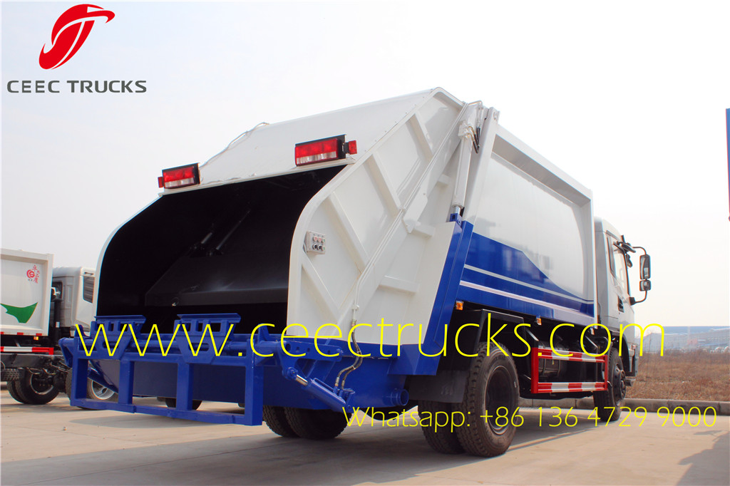 SHACMAN 12 cbm refuse compactor trucks sale