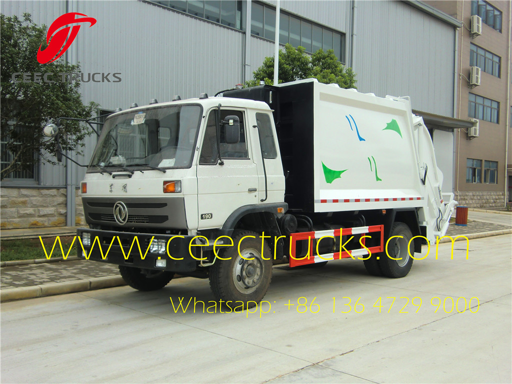 10 CBM compression garbage truck