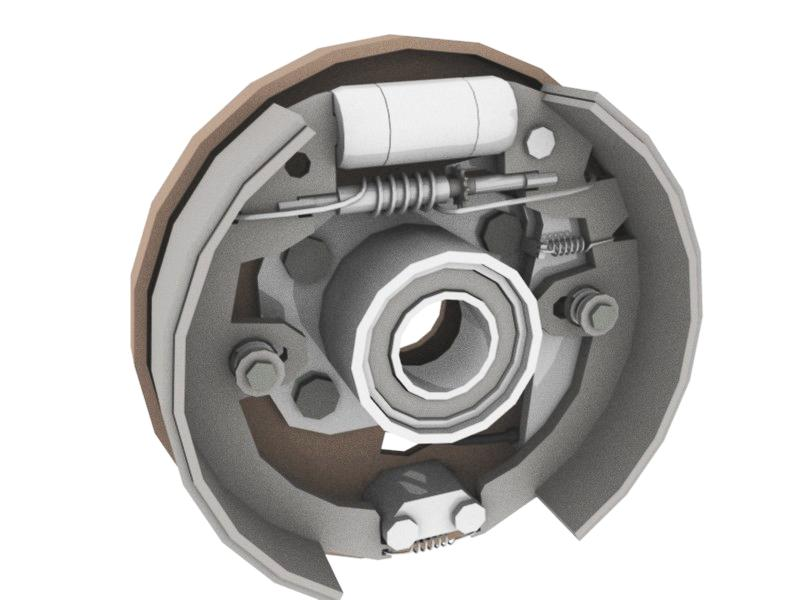 beiben brake device parts