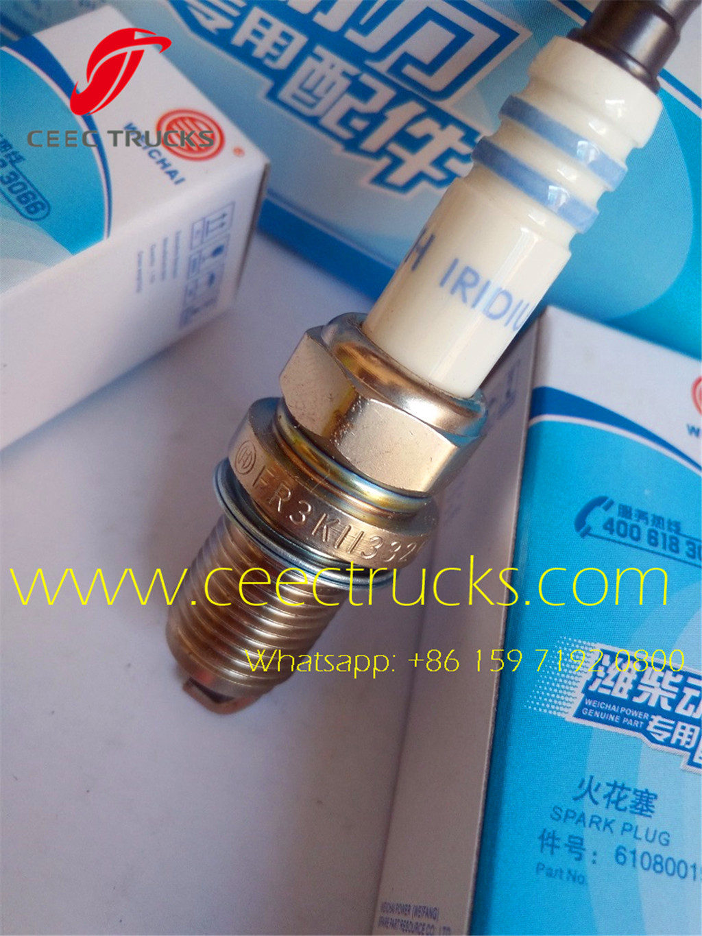 Beiben spark plug 612600190535 supplier