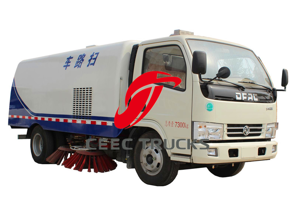 DFAC 5 CBM road cleaner vehicle