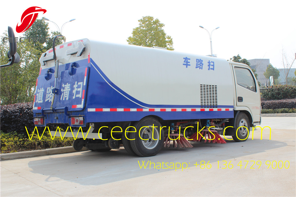 DFAC 5 CBM road cleaner vehicles manufacturer