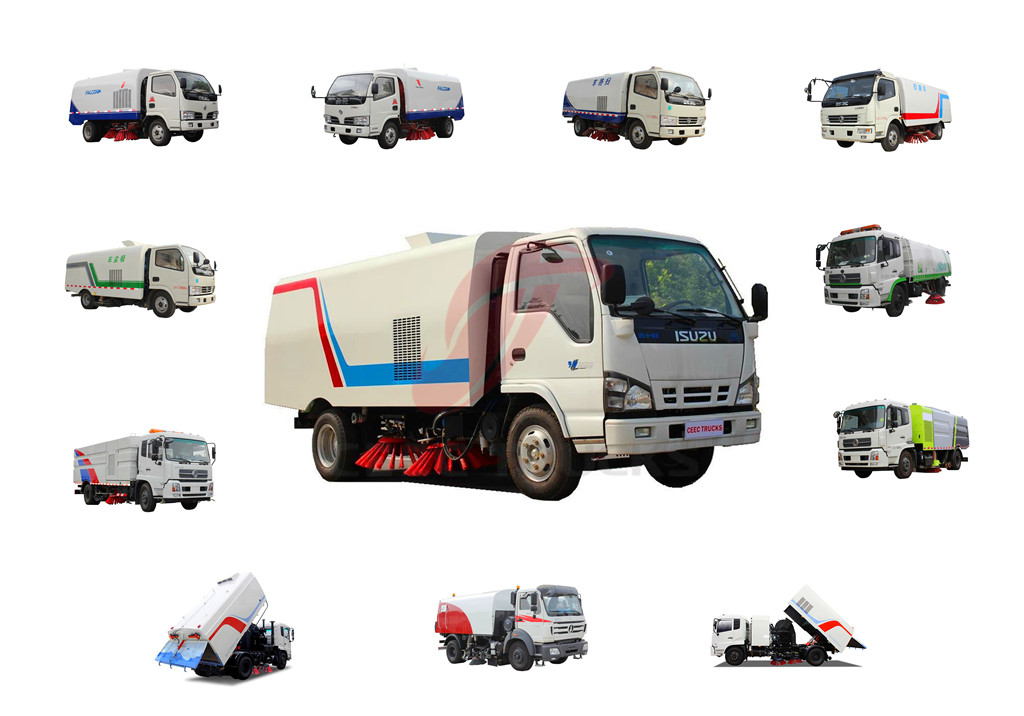 CEEC road sweeper trucks