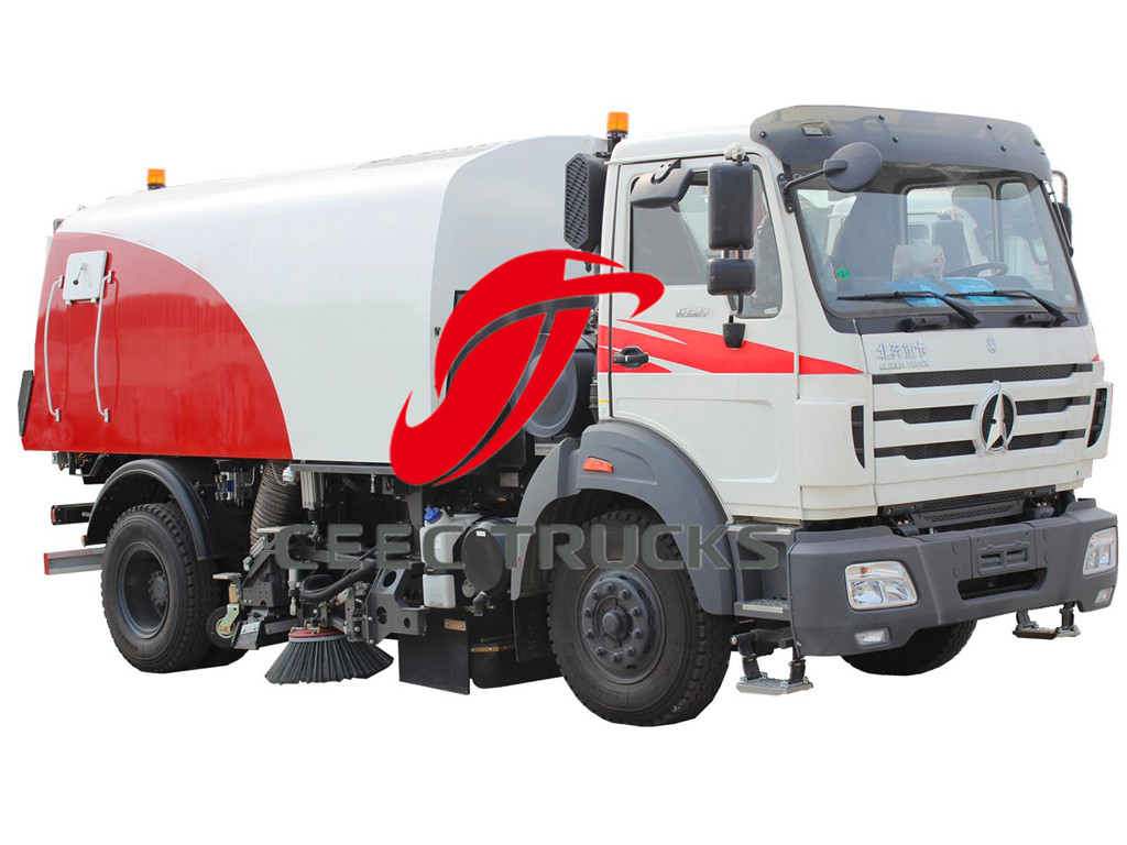 Beiben 8CBM road sweeper trucks
