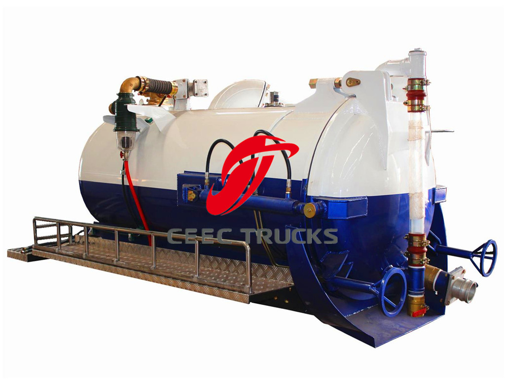 China manufacture 2CBM sewage suction kit