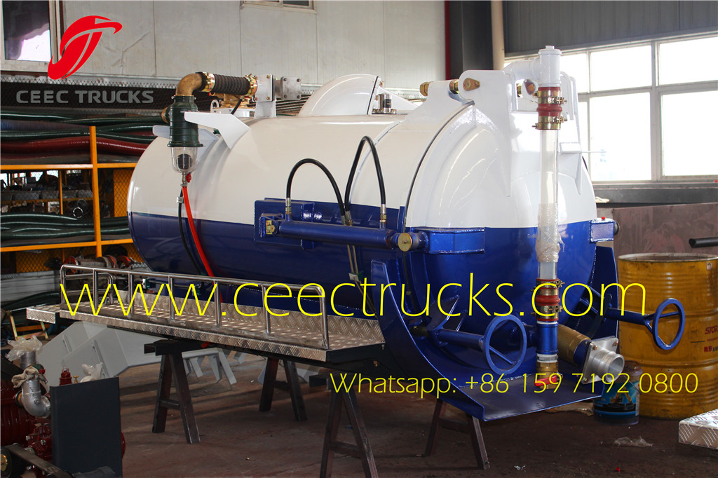 China manufacture 2000 liters sewage suction kits