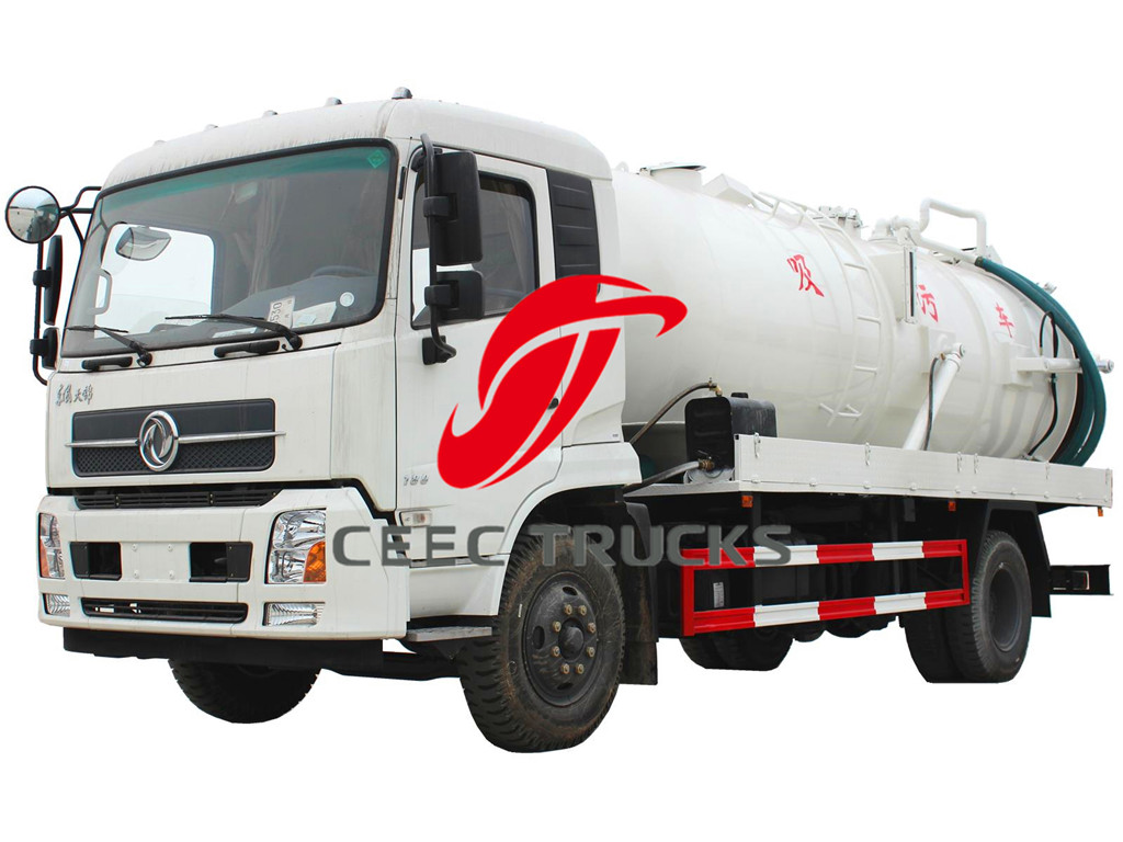 10000 liters dongfeng cesspit emptier tanker truck Dongfeng sale