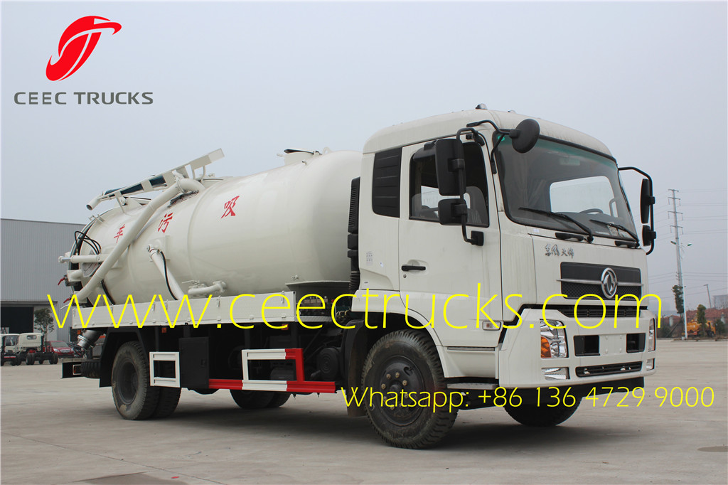 10000 liters dongfeng cesspit emptier tanker truck Dongfeng