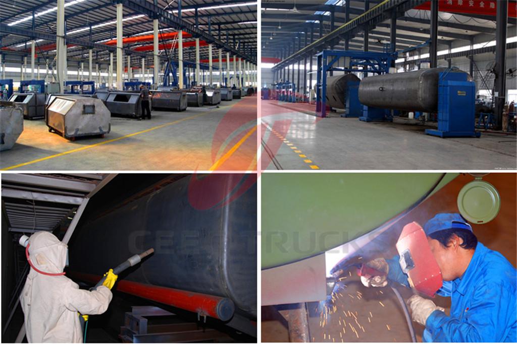 CEEC supply vacuum sewage suction truck features