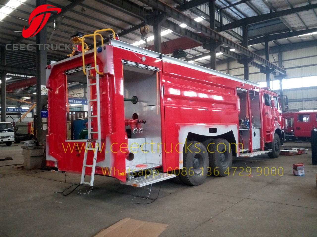 beiben 2542 fire fighting truck