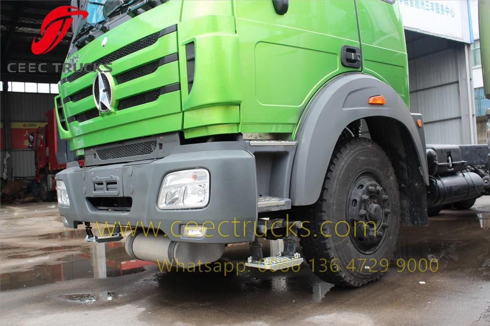 beiben 2530 fuel truck chassis
