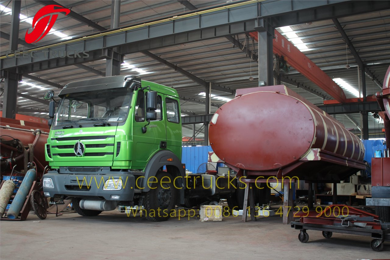 20 CBM fuel truck supplier