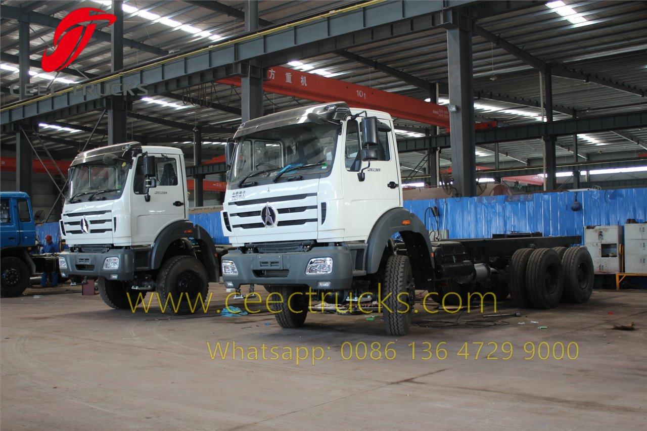 20 CBM beiben water truck