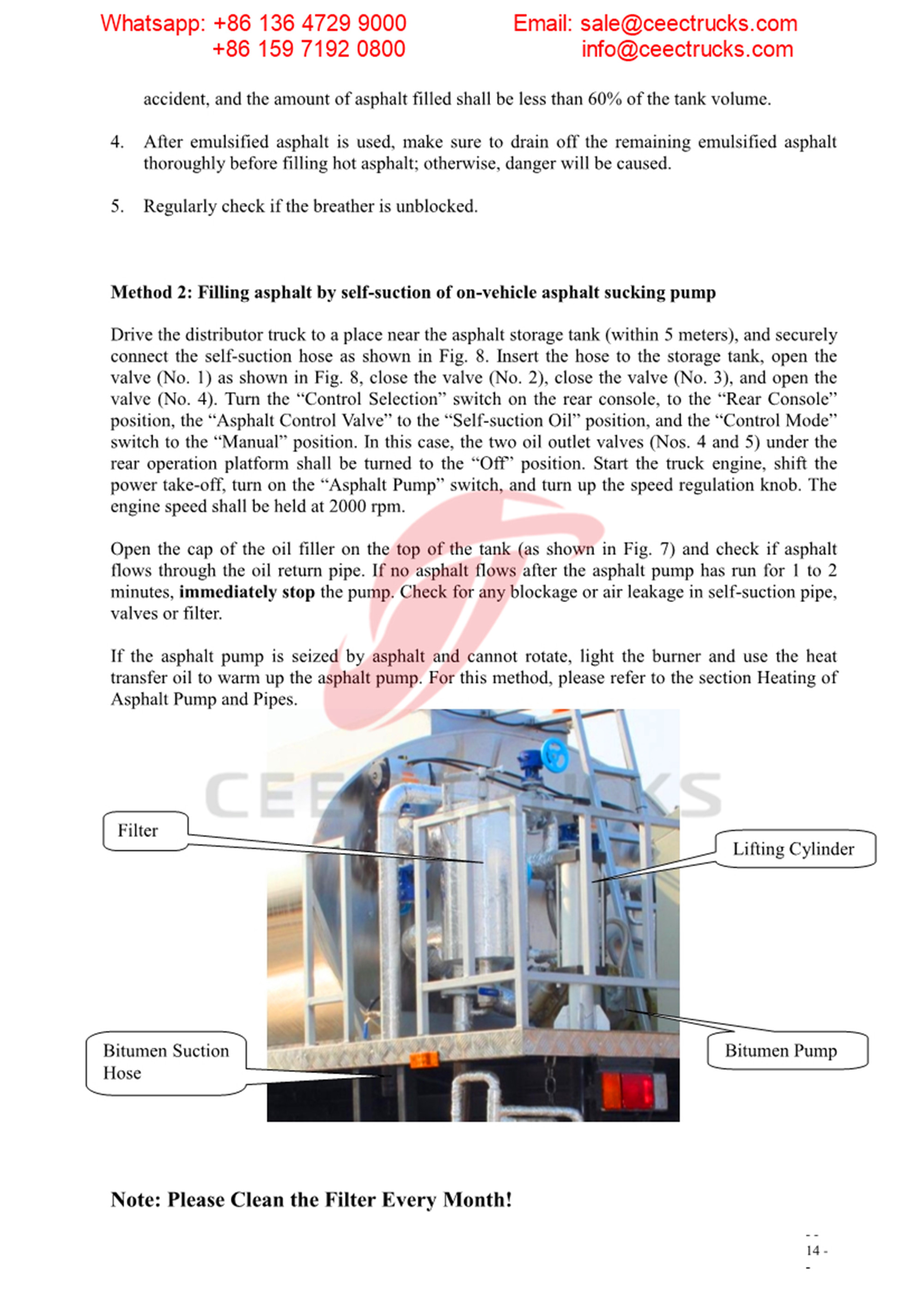 Myanmar customer buy asphalt distribution truck