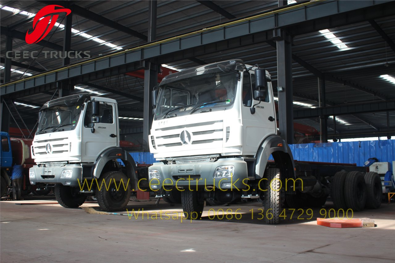 china beiben water truck supplier
