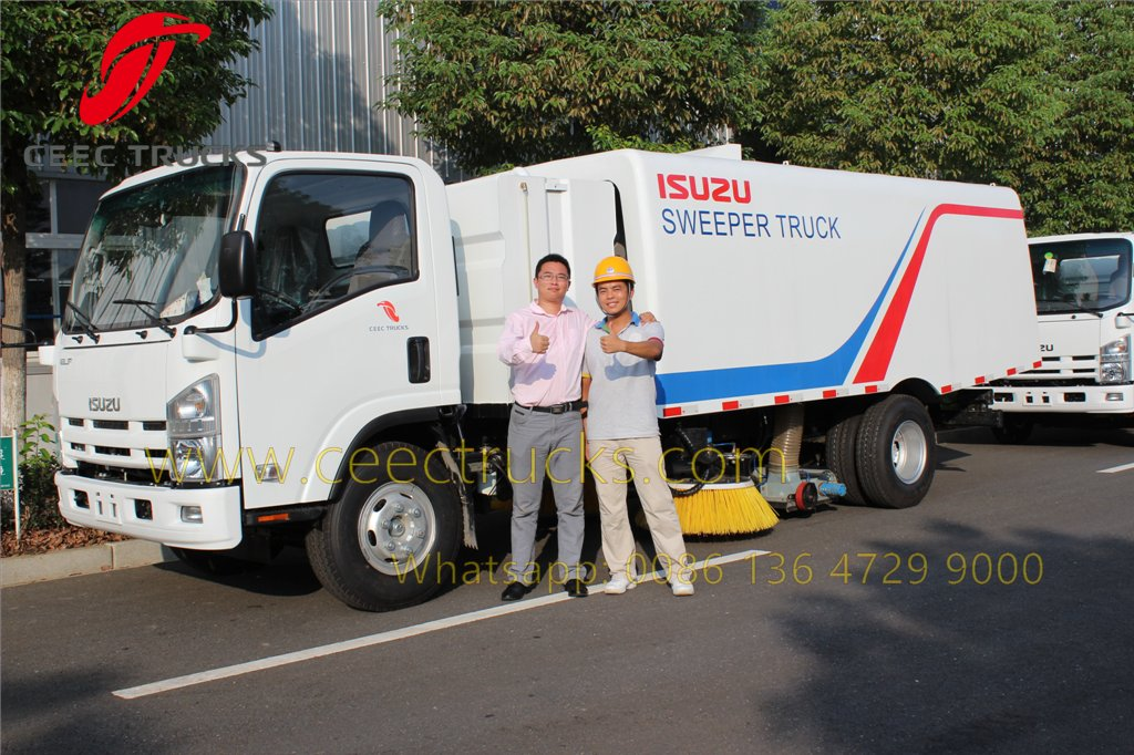 china road sweeper truck