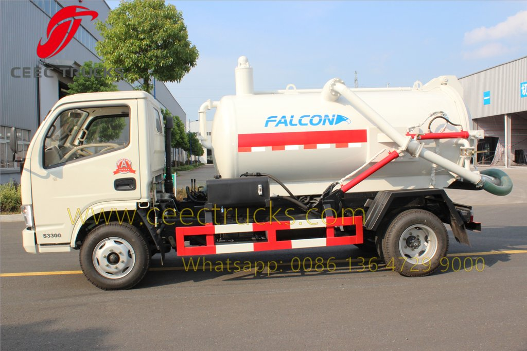 dongfeng sewage suction truck